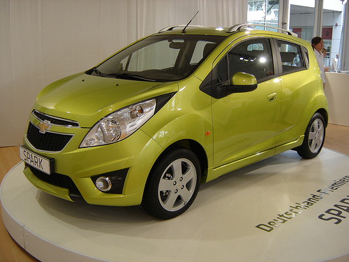 e58deb1e2dca GM to offer all-electric Spark subcompact starting in 2013