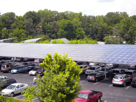 Cincinnati Zoo solar array