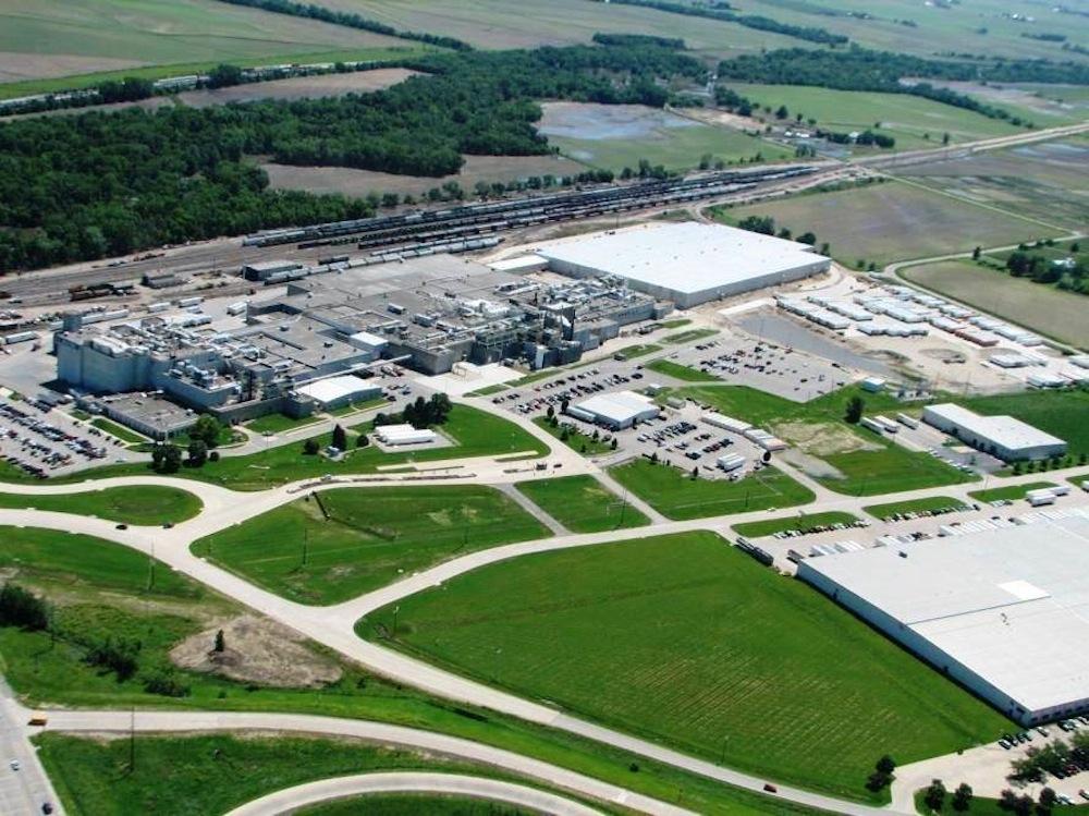 General Mills' Cedar Rapids, Iowa plant.