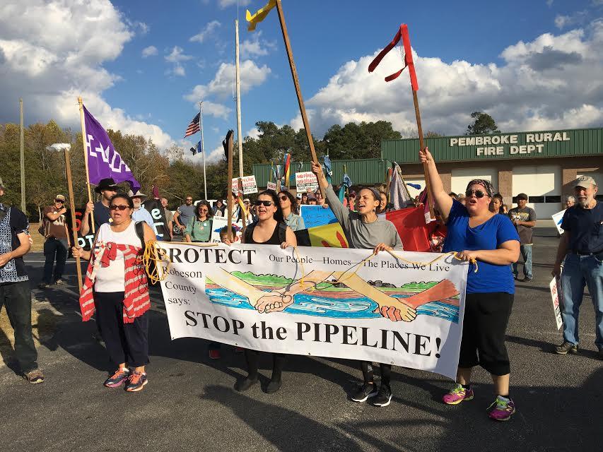 North Carolina tribes fear impact of Atlantic Coast Pipeline