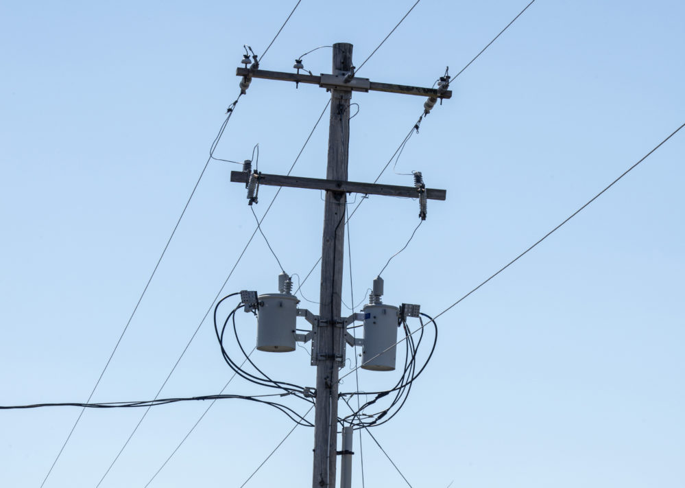 Electric Poles With Wire Word - WIRE Center •