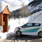 Electric car Colorado