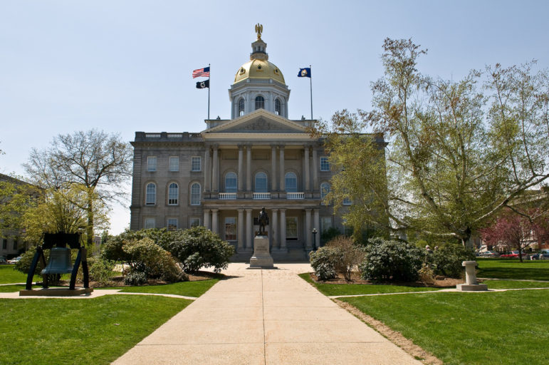 New Hampshire State Capitol in Concord