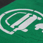 symbol indicating electric vehicle parking