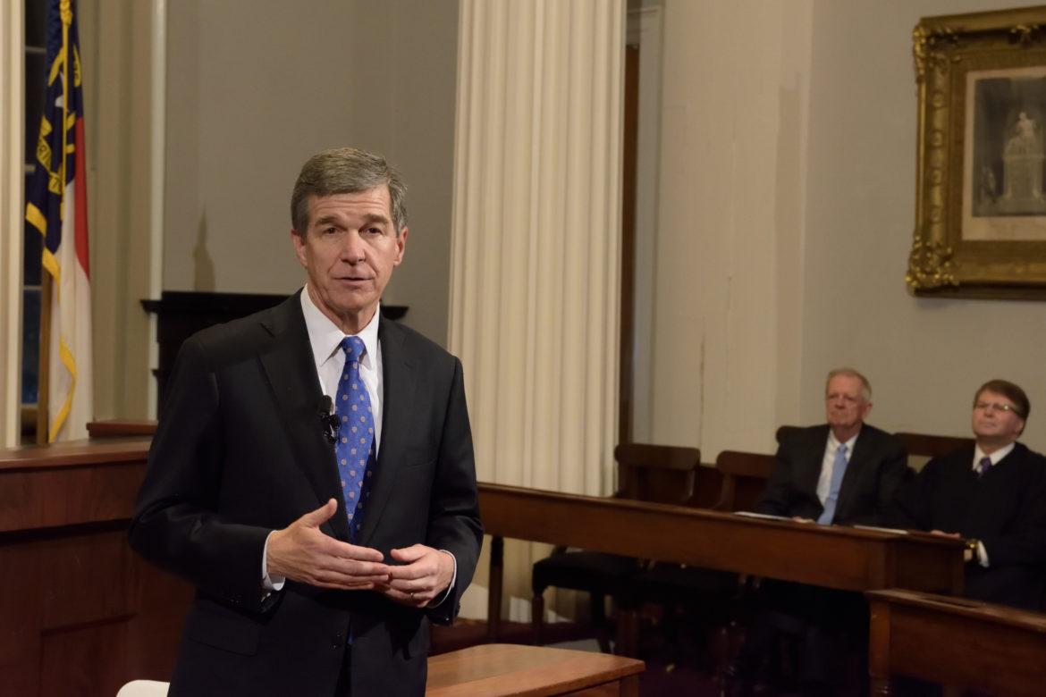 N C  Gov  Roy Cooper proposes offshore wind study in budget