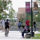 southern illinois university campus scene