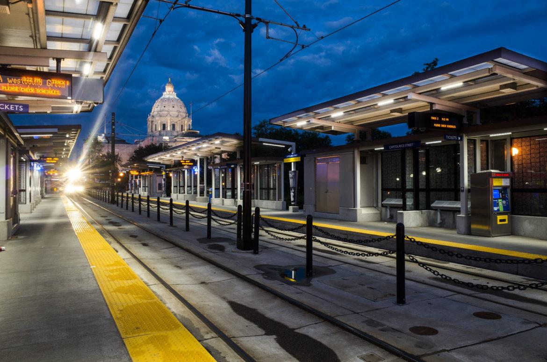 Saint Paul light rail station